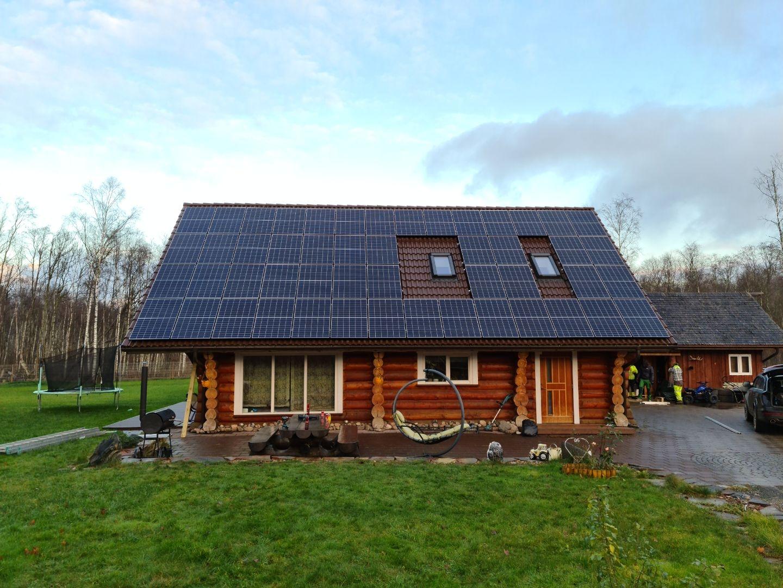 Päikesepaneelid Hüürus, Projekt 126