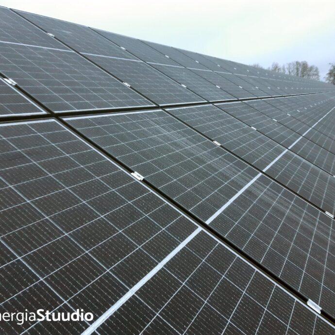 Päikeseelektrijaama paigaldamine, Projekt 117