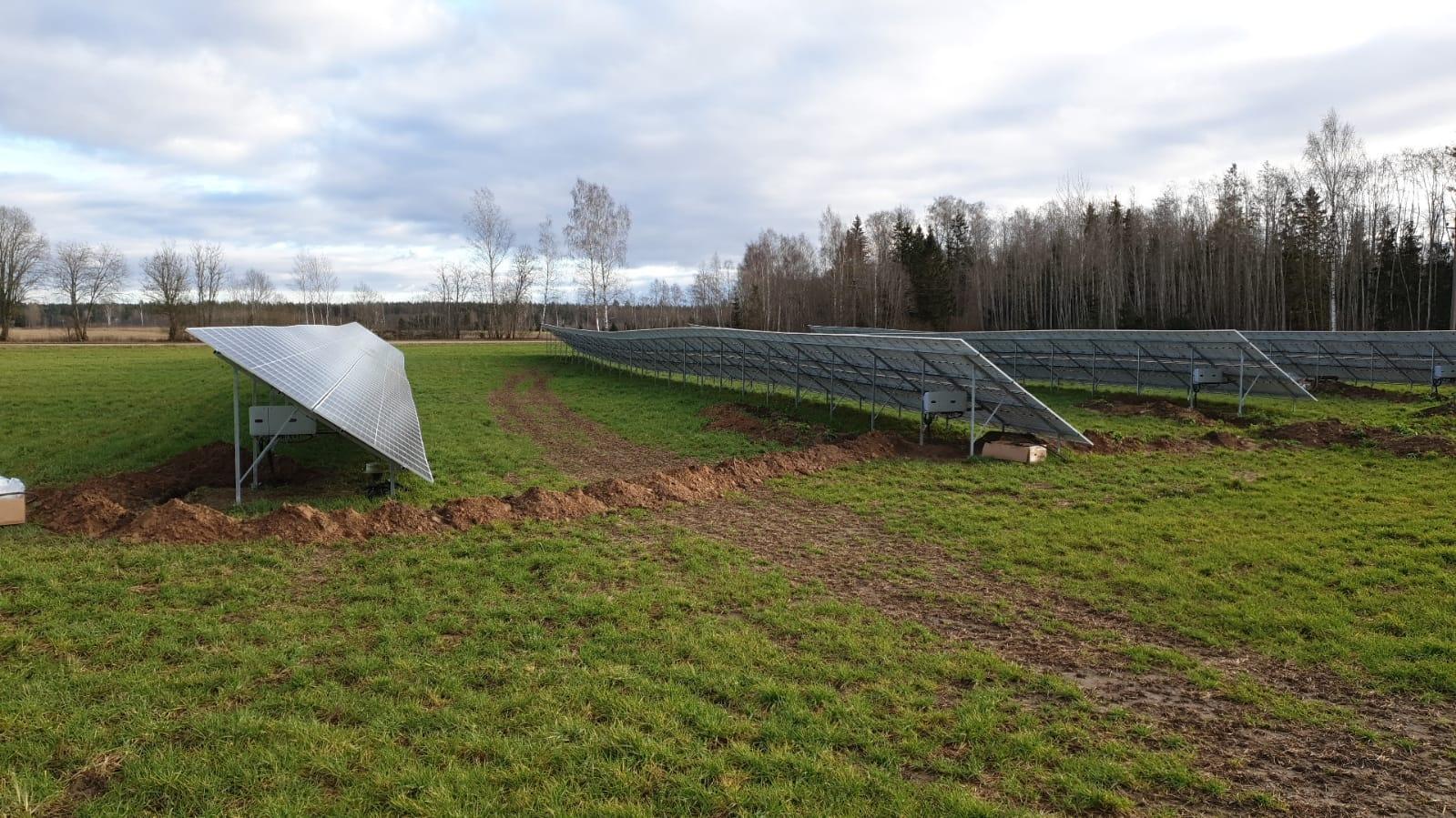 Päikeseelektrijaama paigaldamine, Projekt 111