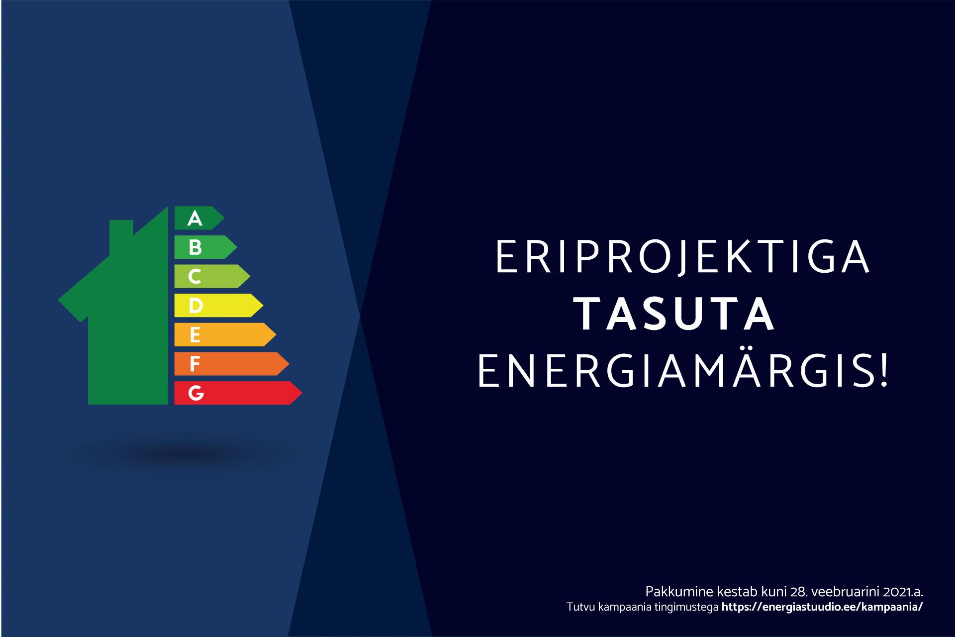 Tasuta energiamärgise kampaania