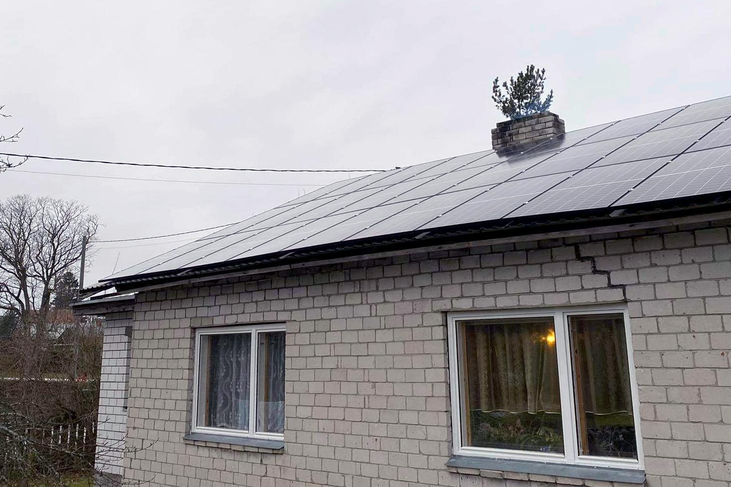 Päikeseelektrijaama paigaldamine, Projekt 133