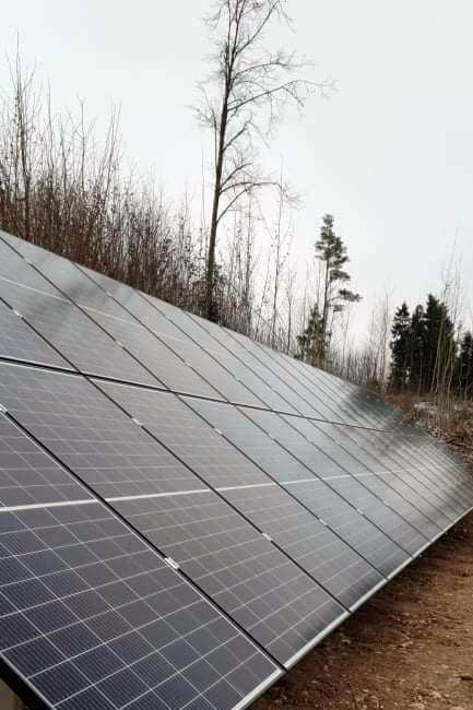 Päikeseelektrijaama paigaldamine, Projekt 134